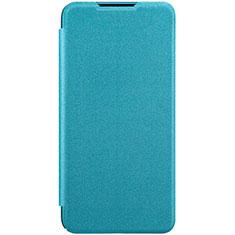Handytasche Stand Schutzhülle Leder Hülle für Xiaomi Mi A3 Hellblau