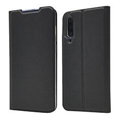 Handytasche Stand Schutzhülle Leder Hülle für Xiaomi Mi A3 Lite Schwarz