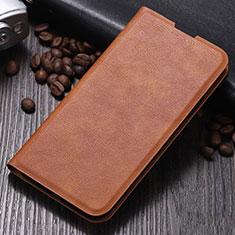 Handytasche Stand Schutzhülle Leder Hülle für Xiaomi Mi Note 10 Pro Braun