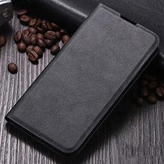 Handytasche Stand Schutzhülle Leder Hülle für Xiaomi Mi Note 10 Schwarz