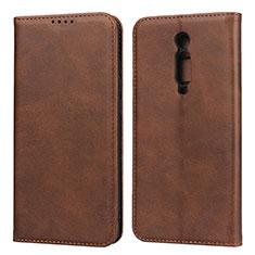 Handytasche Stand Schutzhülle Leder Hülle für Xiaomi Redmi K20 Braun