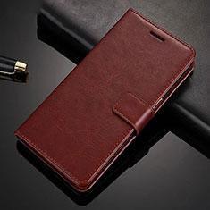 Handytasche Stand Schutzhülle Leder Hülle für Xiaomi Redmi Note 8 Pro Braun