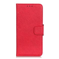 Handytasche Stand Schutzhülle Leder Hülle L01 für Alcatel 1X (2019) Rot