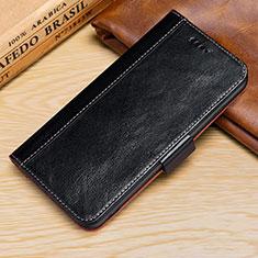 Handytasche Stand Schutzhülle Leder Hülle L01 für Apple iPhone XR Schwarz