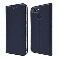 Handytasche Stand Schutzhülle Leder Hülle L01 für Asus Zenfone Max Plus M1 ZB570TL Blau