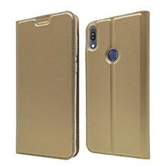 Handytasche Stand Schutzhülle Leder Hülle L01 für Asus Zenfone Max Pro M1 ZB601KL Gold