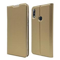 Handytasche Stand Schutzhülle Leder Hülle L01 für Asus Zenfone Max Pro M2 ZB631KL Gold