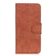 Handytasche Stand Schutzhülle Leder Hülle L01 für HTC Desire 19 Plus Braun