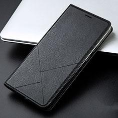Handytasche Stand Schutzhülle Leder Hülle L01 für Huawei Honor 9 Lite Schwarz