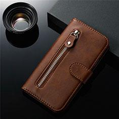 Handytasche Stand Schutzhülle Leder Hülle L01 für Samsung Galaxy S20 Ultra 5G Braun