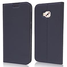 Handytasche Stand Schutzhülle Leder Hülle L02 für Asus Zenfone 4 Selfie Pro Blau