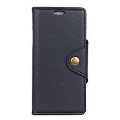 Handytasche Stand Schutzhülle Leder Hülle L02 für Asus Zenfone 5 ZS620KL Schwarz