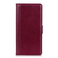 Handytasche Stand Schutzhülle Leder Hülle L02 für HTC Desire 19 Plus Rot