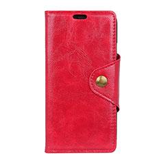 Handytasche Stand Schutzhülle Leder Hülle L03 für Asus Zenfone 5 Lite ZC600KL Rot