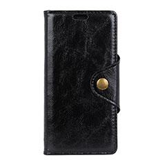 Handytasche Stand Schutzhülle Leder Hülle L03 für Asus Zenfone 5 Lite ZC600KL Schwarz