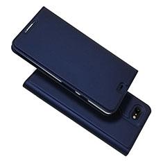 Handytasche Stand Schutzhülle Leder Hülle L03 für Google Pixel 3 XL Blau