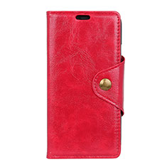 Handytasche Stand Schutzhülle Leder Hülle L03 für Google Pixel 3a Rot