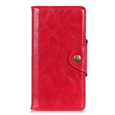 Handytasche Stand Schutzhülle Leder Hülle L03 für Google Pixel 4 XL Rot