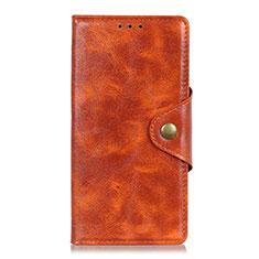 Handytasche Stand Schutzhülle Leder Hülle L03 für HTC Desire 19 Plus Orange