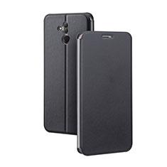 Handytasche Stand Schutzhülle Leder Hülle L03 für Huawei Mate 20 Lite Schwarz
