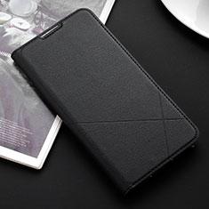 Handytasche Stand Schutzhülle Leder Hülle L03 für Huawei P Smart (2019) Schwarz