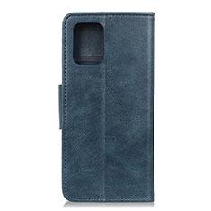 Handytasche Stand Schutzhülle Leder Hülle L03 für Huawei P40 Blau
