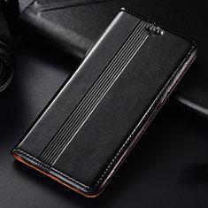 Handytasche Stand Schutzhülle Leder Hülle L03 für Samsung Galaxy A81 Schwarz