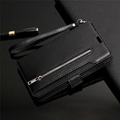 Handytasche Stand Schutzhülle Leder Hülle L03 für Samsung Galaxy S20 Plus 5G Schwarz