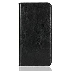 Handytasche Stand Schutzhülle Leder Hülle L03 für Xiaomi Mi 8 Schwarz