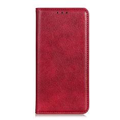 Handytasche Stand Schutzhülle Leder Hülle L04 für Google Pixel 4 Rot