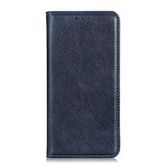 Handytasche Stand Schutzhülle Leder Hülle L04 für HTC Desire 19 Plus Blau