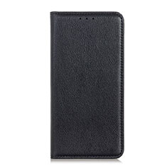 Handytasche Stand Schutzhülle Leder Hülle L04 für HTC Desire 19 Plus Schwarz