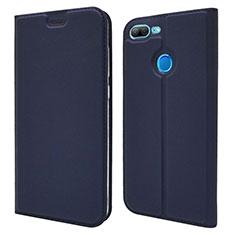 Handytasche Stand Schutzhülle Leder Hülle L04 für Huawei Honor 9 Lite Blau