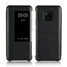 Handytasche Stand Schutzhülle Leder Hülle L04 für Huawei Mate 20 Pro Schwarz