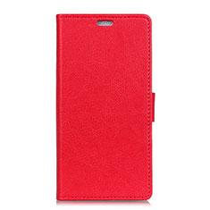 Handytasche Stand Schutzhülle Leder Hülle L05 für Asus Zenfone Max Plus M1 ZB570TL Rot