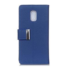 Handytasche Stand Schutzhülle Leder Hülle L05 für Asus ZenFone V500KL Blau