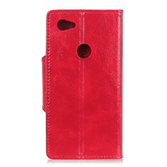Handytasche Stand Schutzhülle Leder Hülle L05 für Google Pixel 3a XL Rot