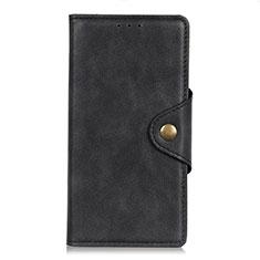 Handytasche Stand Schutzhülle Leder Hülle L05 für HTC Desire 19 Plus Schwarz