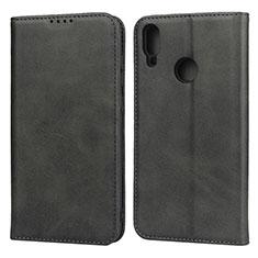 Handytasche Stand Schutzhülle Leder Hülle L05 für Huawei Enjoy 9 Schwarz