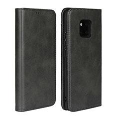 Handytasche Stand Schutzhülle Leder Hülle L05 für Huawei Mate 20 Pro Schwarz