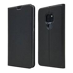 Handytasche Stand Schutzhülle Leder Hülle L05 für Huawei Mate 20 Schwarz