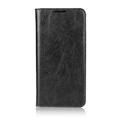 Handytasche Stand Schutzhülle Leder Hülle L05 für Huawei P30 Lite Schwarz