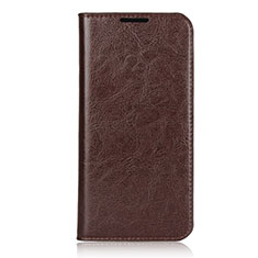 Handytasche Stand Schutzhülle Leder Hülle L05 für Xiaomi Redmi Note 7 Braun