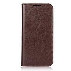 Handytasche Stand Schutzhülle Leder Hülle L05 für Xiaomi Redmi Note 7 Pro Braun
