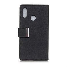 Handytasche Stand Schutzhülle Leder Hülle L06 für Asus Zenfone 5 ZS620KL Schwarz