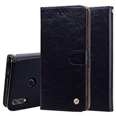Handytasche Stand Schutzhülle Leder Hülle L06 für Huawei Honor 8X Schwarz