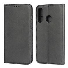 Handytasche Stand Schutzhülle Leder Hülle L06 für Huawei P30 Lite Schwarz