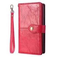 Handytasche Stand Schutzhülle Leder Hülle L06 für Samsung Galaxy S20 Plus 5G Rot