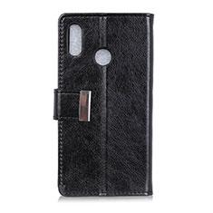 Handytasche Stand Schutzhülle Leder Hülle L07 für Asus Zenfone 5 ZS620KL Schwarz