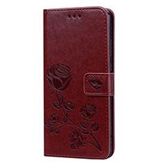 Handytasche Stand Schutzhülle Leder Hülle L07 für Huawei Honor View 10 Lite Braun